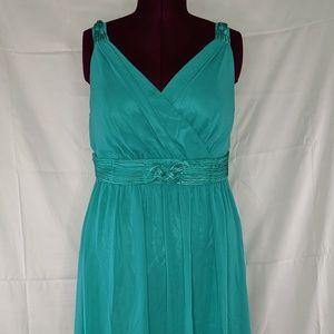 Turquoise Sleeveless Dress